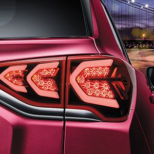 Korando rear light